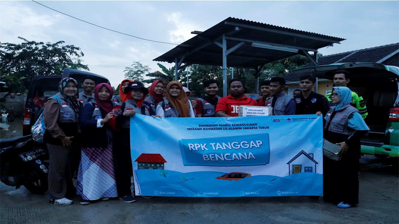 RPK Peduli Bantu Korban Banjir Di Jabodetabek