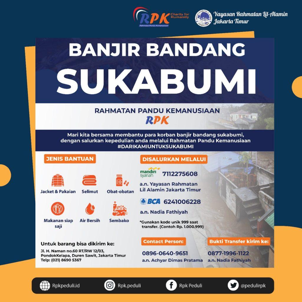Peduli Banjir Sukabumi