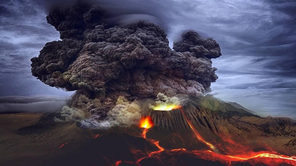 Hujan Abu Vulkanik