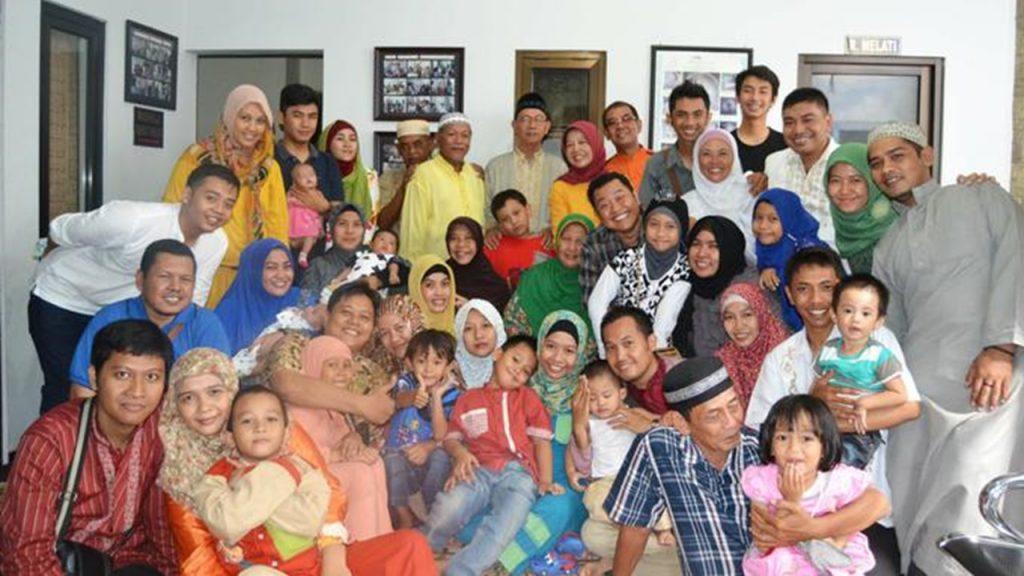 berkumpul bersama keluarga