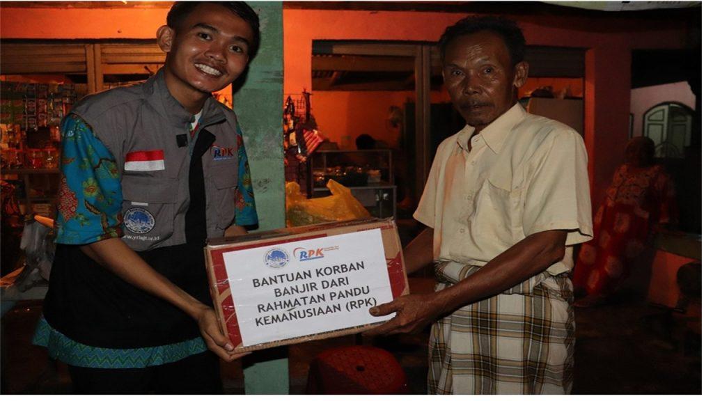 Rpk peduli salurkan bantuan kepada korban banjir jabodetabek