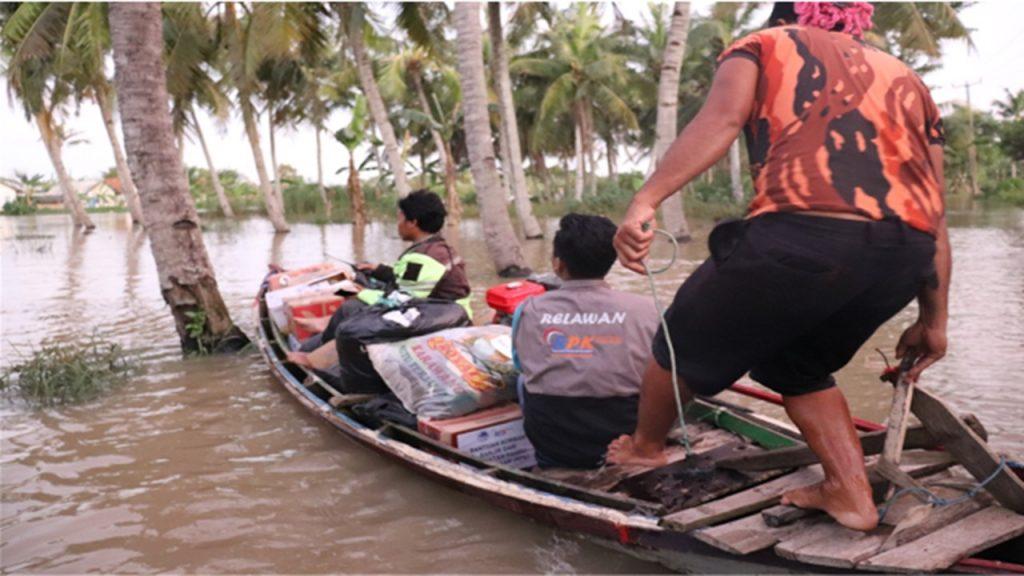 RPK bantu korban banjir