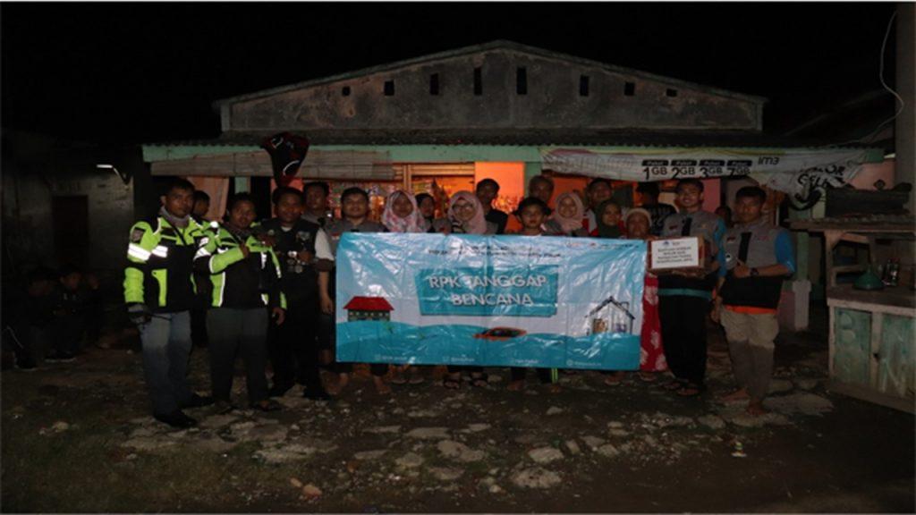 RPK Peduli bersama AERI Bekasi, Komunitas Ambulan Bekasi dan Relawan Nusantara Peduli