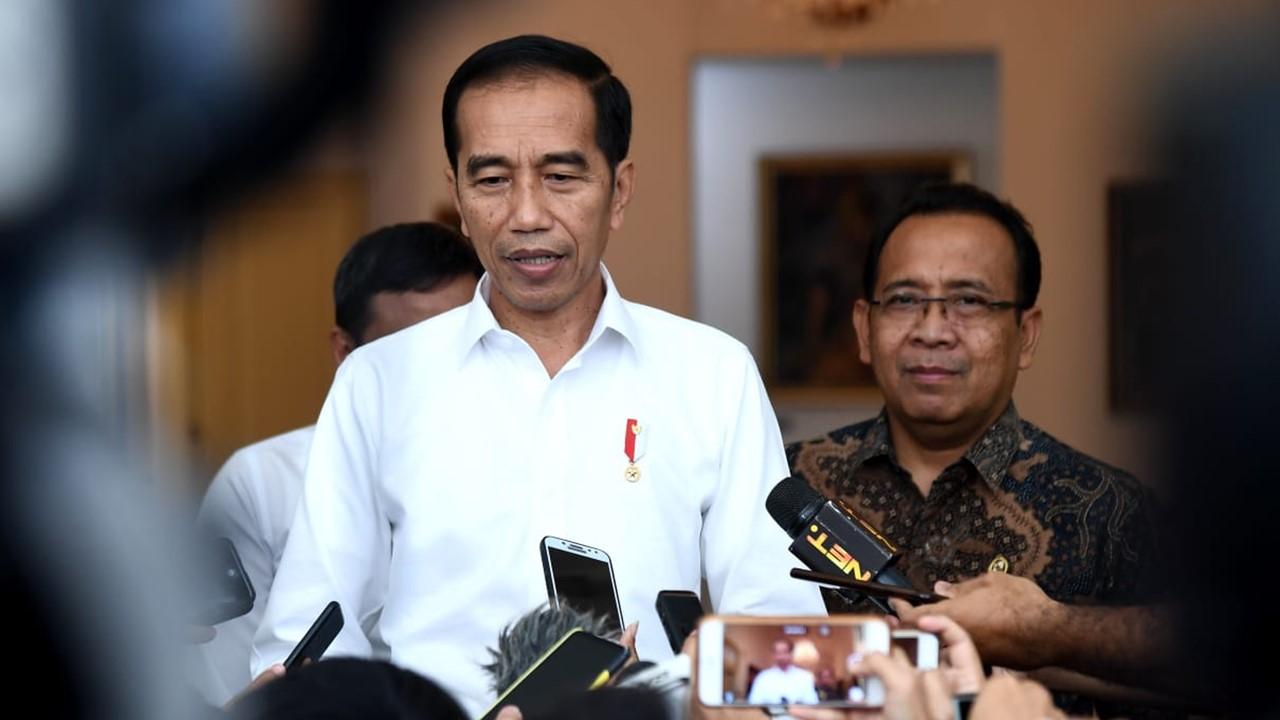 Sampaikan Ucapan Duka, Jokowi : Indonesia Bersama Lebanon